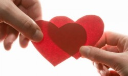 giving and receiving hearts