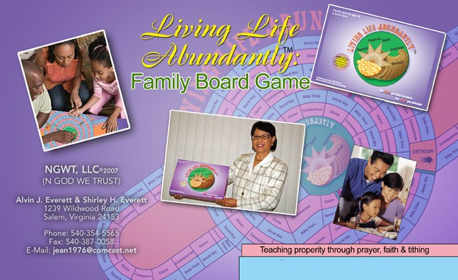 Couple's Christian Board Game Guides People to Prosperity