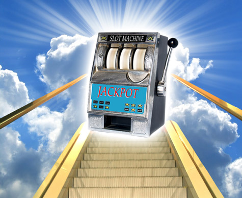 God is a Slot Machine
