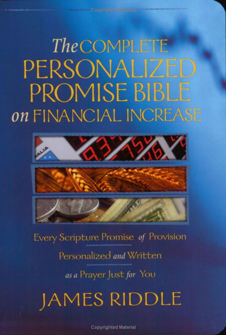 Personalized Promise Bible of Financial Increase