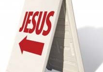 church jesus sign